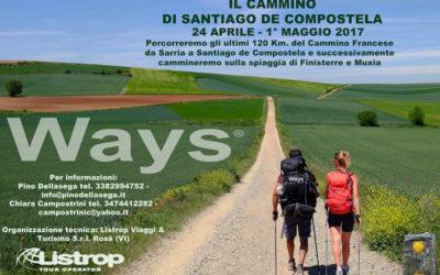 Il Cammino di Santiago de Compostela 24 aprile – 1° maggio 2017