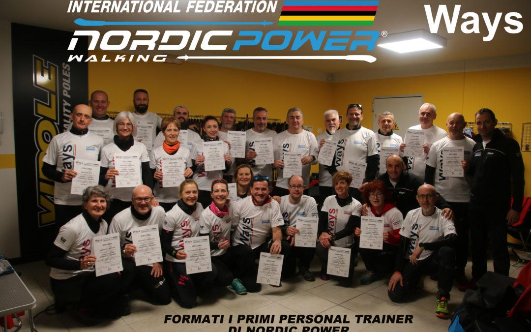 Formati i primi Personal Trainer di Nordic Power