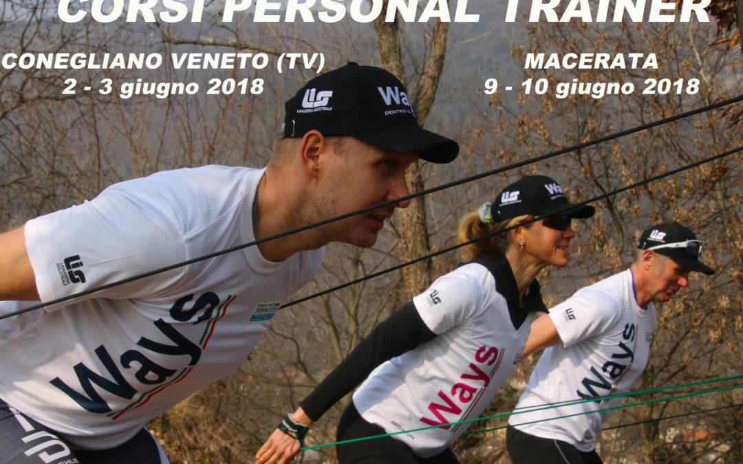"""""""PERSONAL TRAINER"""" di Nordic Power aperte le iscrizioni per Conegliano Veneto (TV) e Macerata"""