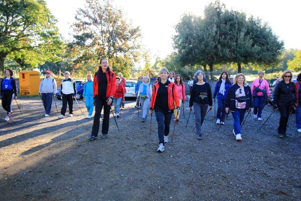 Il Nordic Power e il Nordic Walking in aiuto di chi è affetto da Linfedema