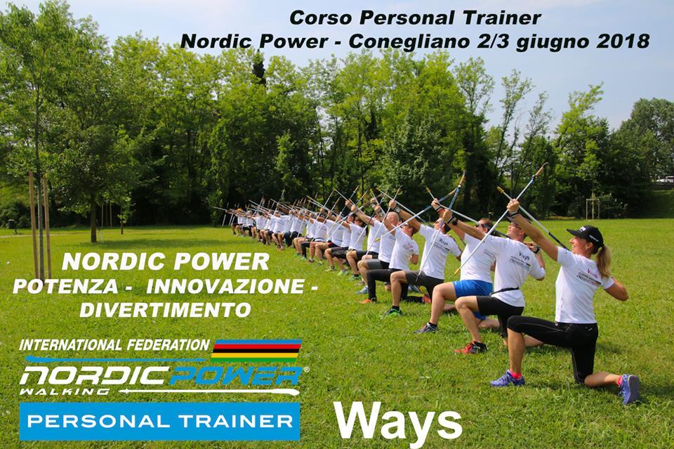 I nuovi Personal Trainer di Nordic Power del corso di Conegliano (TV)