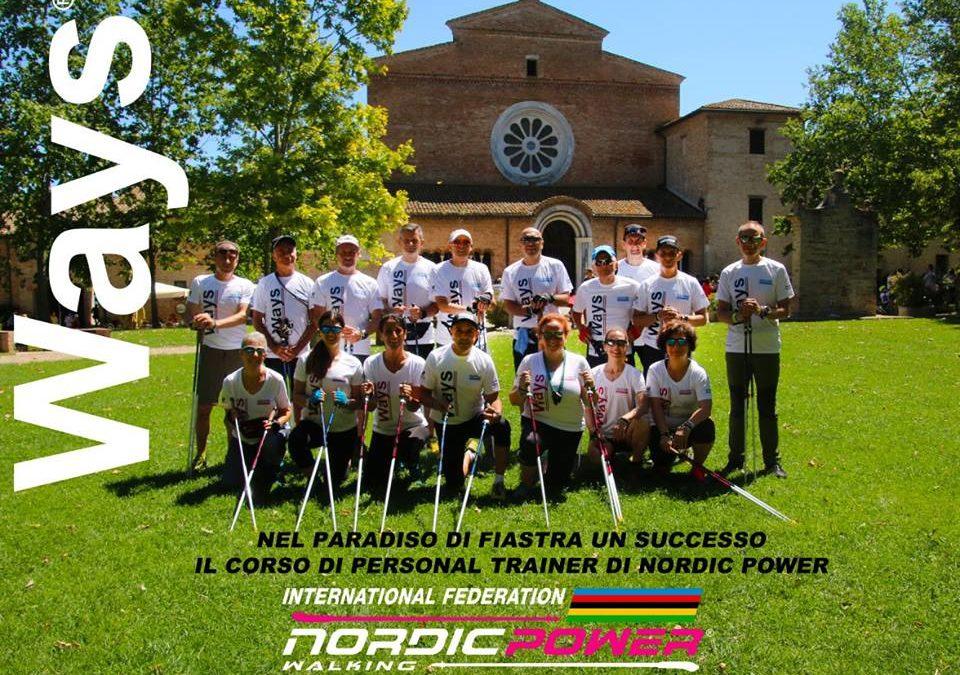 I nuovi Personal Trainer di Nordic Power dopo il corso di Macerata (Abbadia di Fiastra)