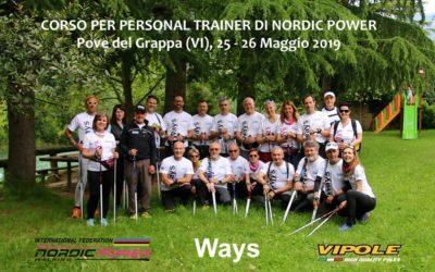 I nuovi Personal trainer di Nordic Power del corso di Pove del Grappa