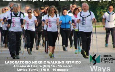 LABORATORI DI APPROFONDIMENTO NORDIC WALKING RITMICO – UNA GRANDE OPPORTUNITA' PER GLI ISTRUTTOR