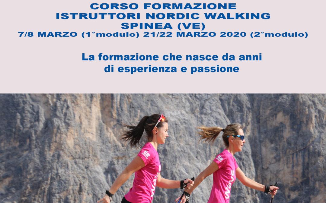 NUOVE DATE DEI CORSI DI FORMAZIONE ISTRUTTORI NORDIC WALKING E PERSONAL TRAINER NORDIC POWER