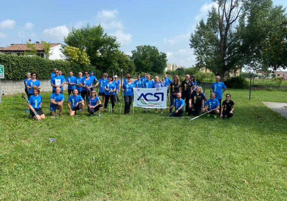 Concluso con successo il corso istruttori nordic walking ACSI a Spinea (VE)