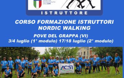 Corso formazione istruttori di Nordic Walking – Pove del Grappa (VI)