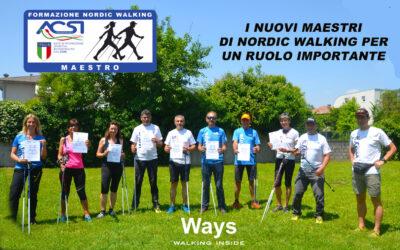 A SPINEA FORMATI I NUOVI MAESTRI DI NORDIC WALKING